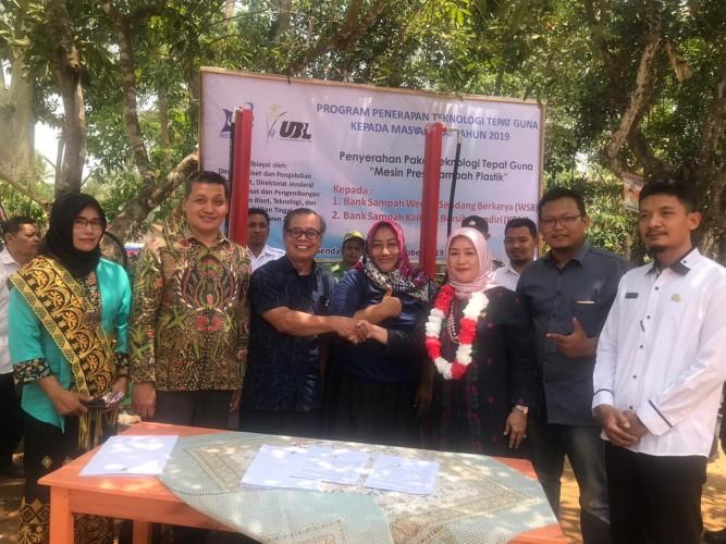 Dwita Ria Pelopori Gerakan Kawasan Bebas Sampah di Lampung Tengah