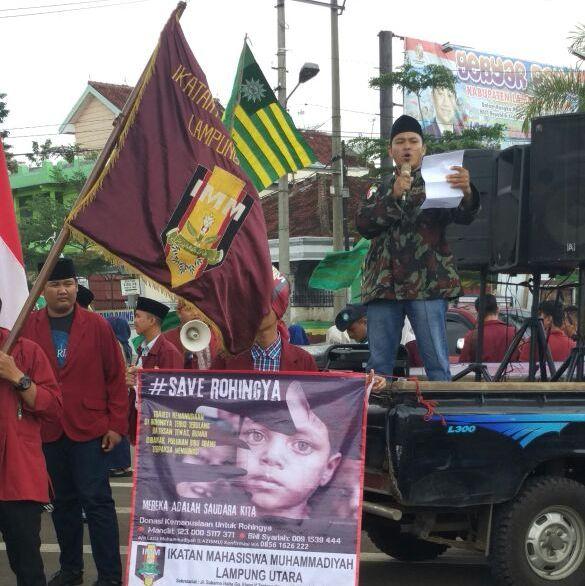 Gerakan Masyarakat Lampung Utara Aksi Peduli Rohingya