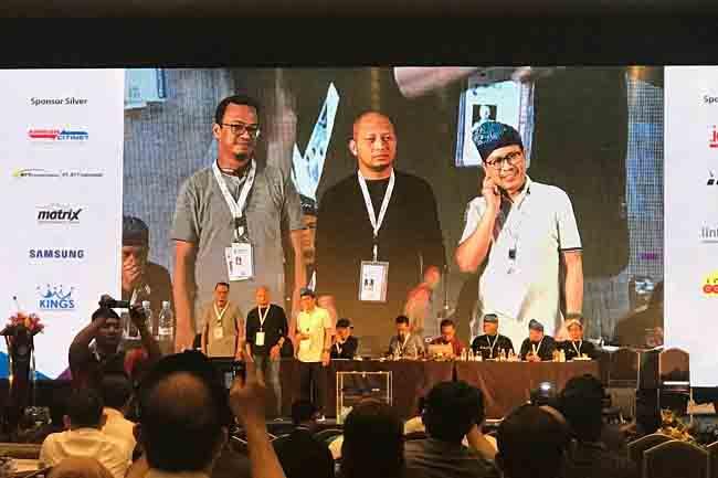Jamalul Izza Kembali Pimpin APJII Periode 2018-2021