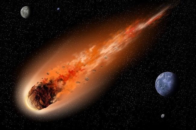 Asteroid Kecil Lewati Bumi