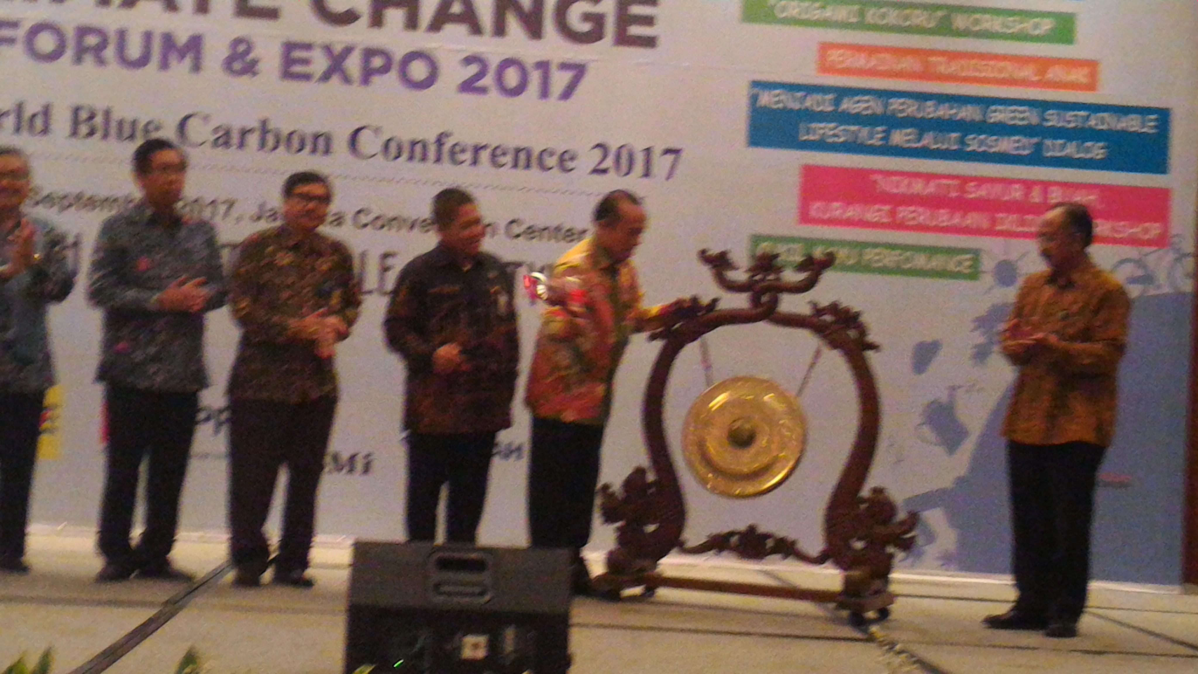 Indonesia Climate Change Forum & Expo Dibuka