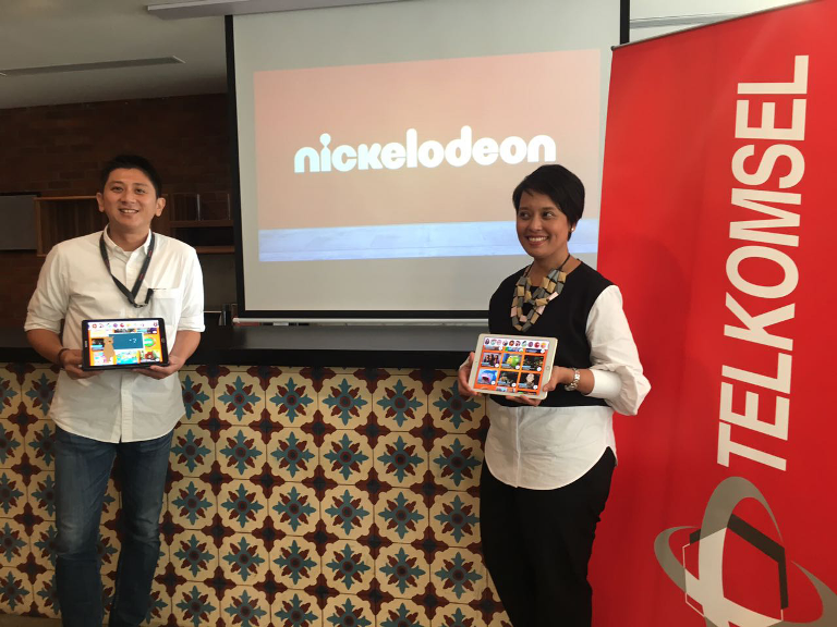 Nickelodeon Gandeng Telkomsel Luncurkan Nickelodeon Play