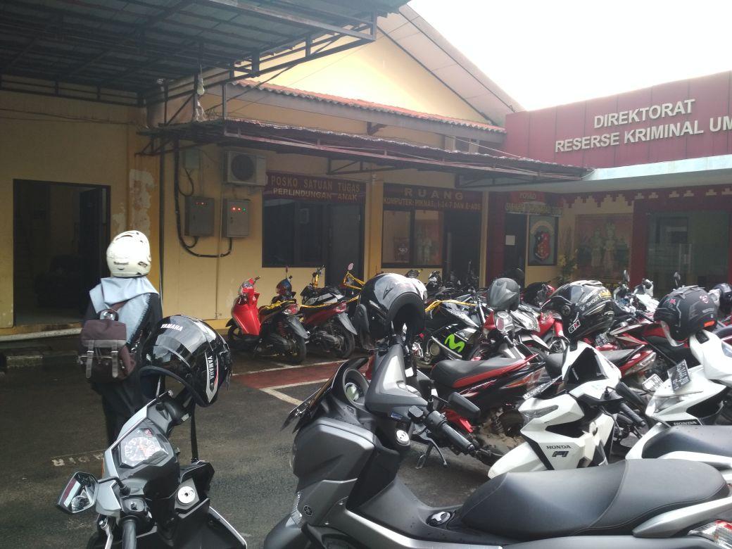Suasana Mapolda Lampung Tempat Alay Diamankan Terlihat Lengang
