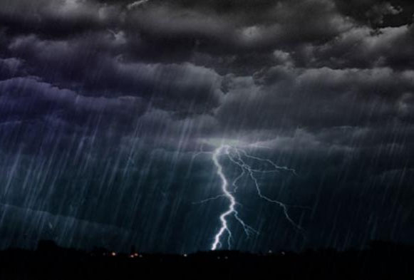 BMKG Lampung : Waspada Potensi Hujan Lebat Disertai Petir di Lima Daerah