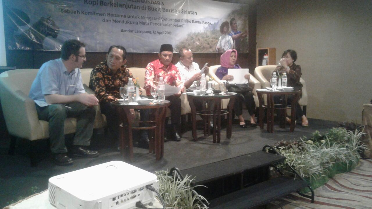 Lampung Barat-OKU Selatan Jalin Komitmen Jaga TNBBS dan Sejahterakan Petani Kopi