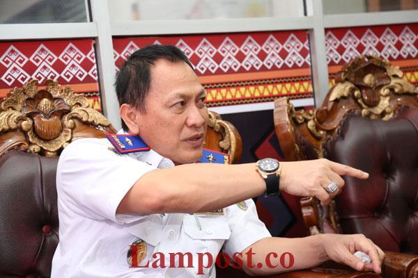 Dishub Lampung Berencana Tahan Angkutan Batu Bara