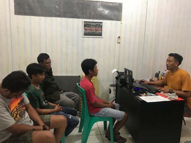 Edarkan Sabu, Empat Pemuda Diringkus di Tempat Berbeda