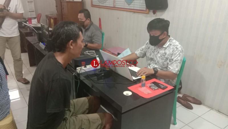 Edarkan Sabu, Pemuda Pengangguran di Kotabumi Dibekuk
