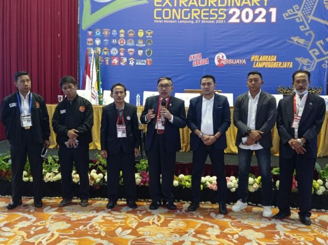 Eddy Samsu Kembali Pimpin PSSI Lampung