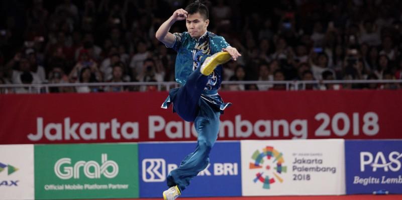 Edgar Borong Tiga Emas Indonesia di Kejuaraan Dunia Wushu