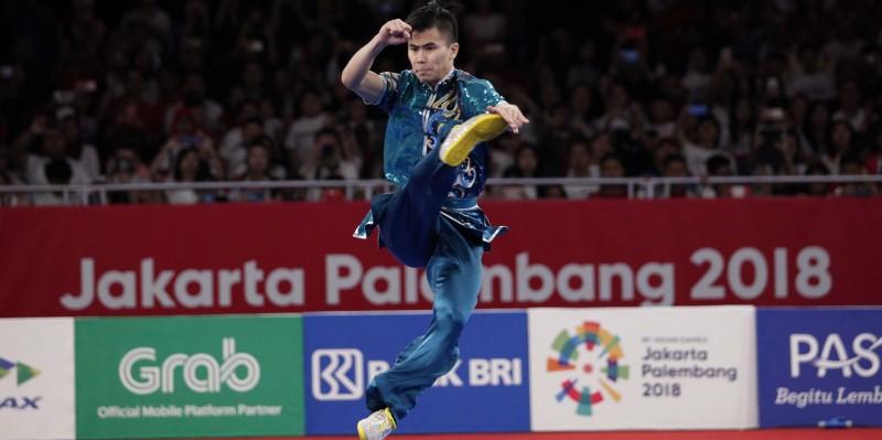 Edgar Marvelo Tahbiskan sebagai Juara Dunia Wushu