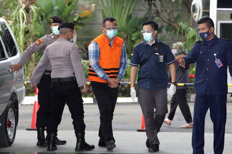 Edhy Prabowo Dicecar KPK Soal <i>Shopping</i> Barang Mewah di Amerika