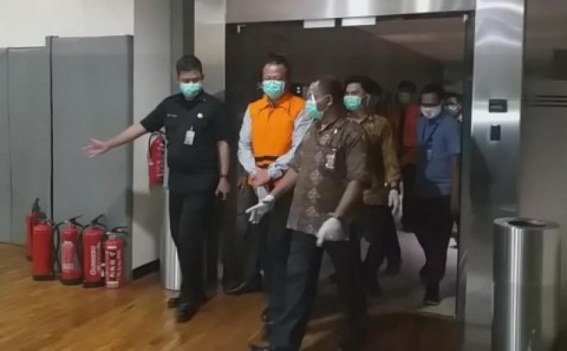 Edhy Prabowo Diperiksa Perdana Usai Jadi Tersangka