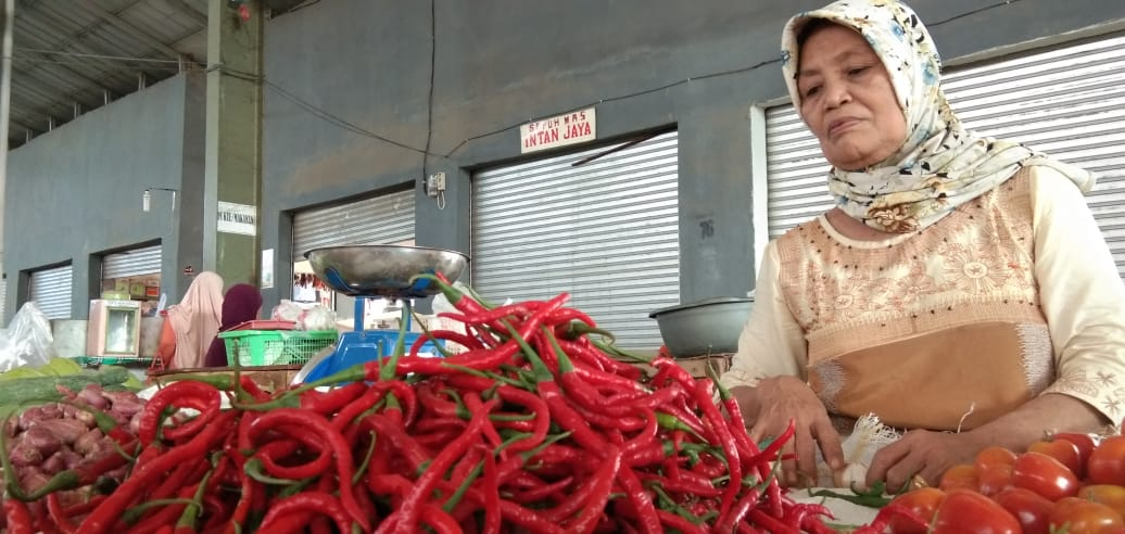 Komoditas Pangan di Lampung Selatan Merangkak Naik