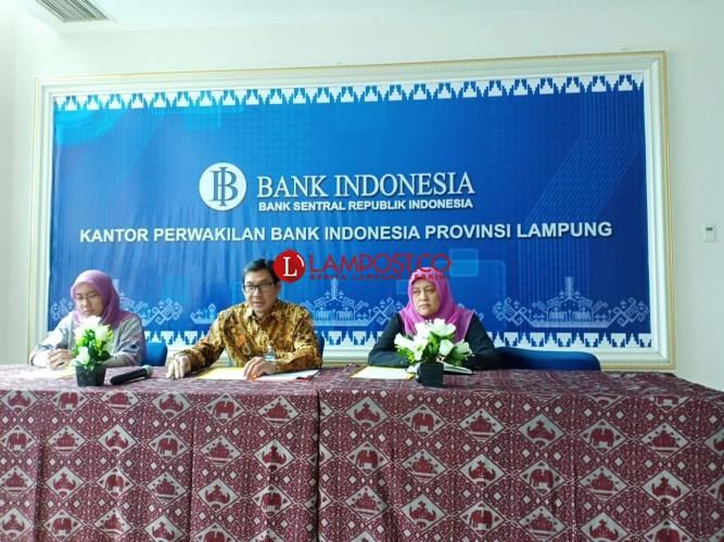 Ekonomi Lampung Triwulan I Tumbuh 5,16 Persen