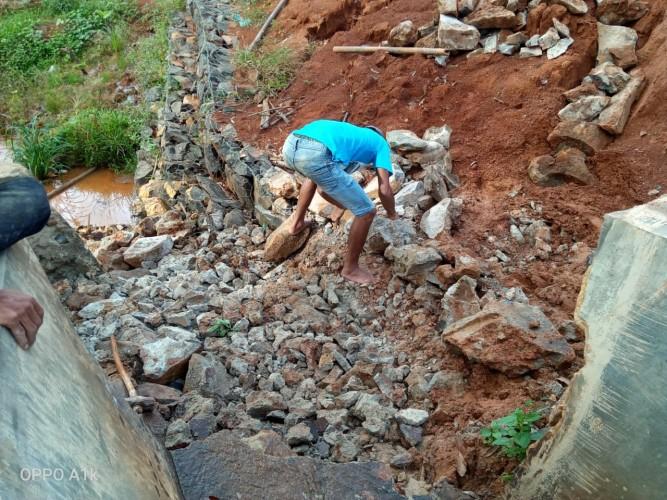 Embung Desa Gilih Sukanegeri di Lampura Diperbaiki