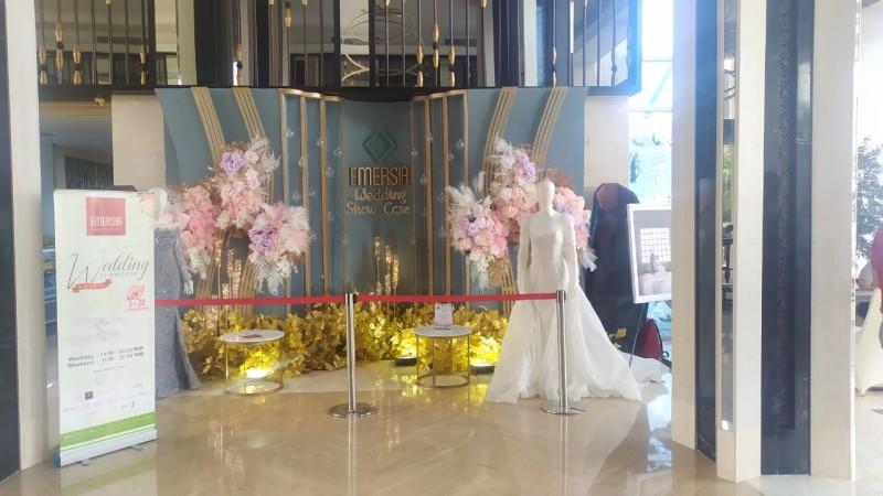 Emersia <i>Wedding Showcase</i> Permudah Catin Atur Acara Pernikahan