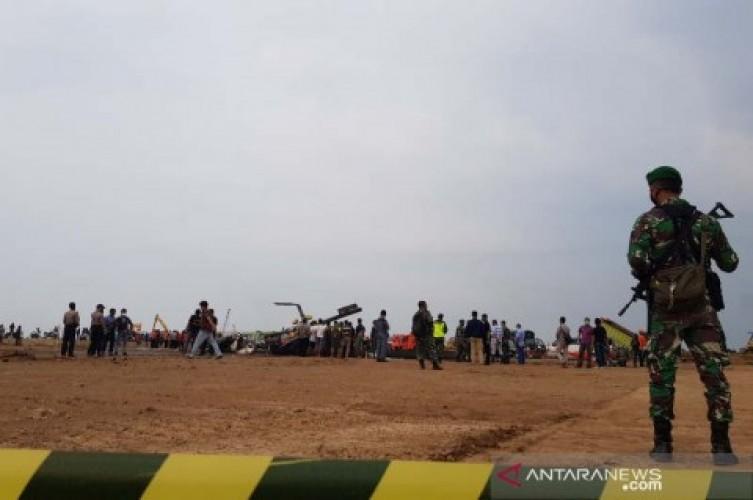 Empat Anggota TNI Tewas dalam Kecelakaan Helikopter di Kendal