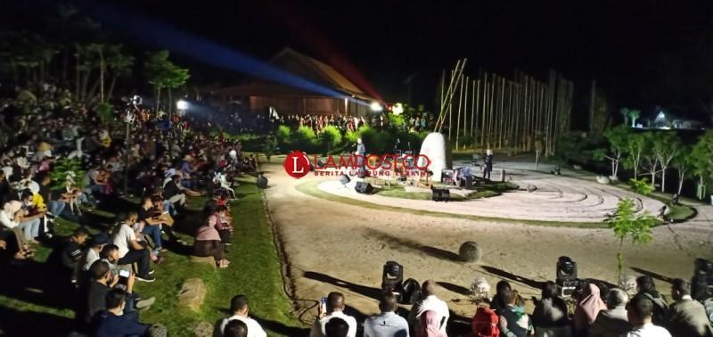 Empat Catatan Penting Pergelaran Festival Bambu Tubaba