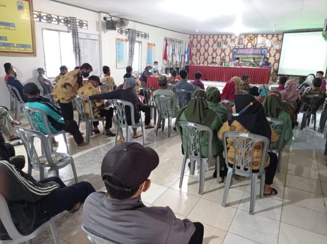 Empat Desa di Kecamatan Natar Gelar Musyawarah untuk Target Kemajuan pada 2022