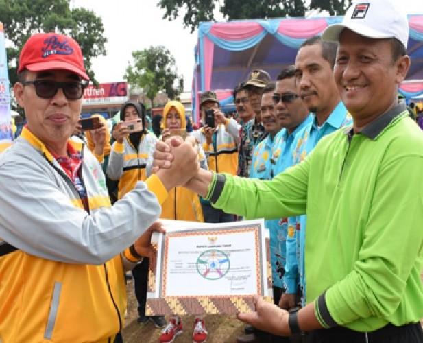 Empat Kecamatan di Lamtim Mendapatkan Penghargaan ODF