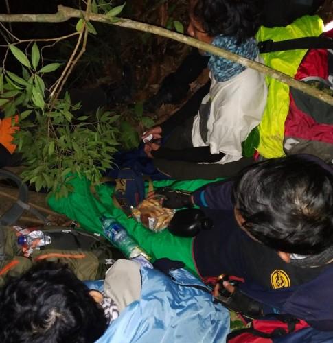 Empat Mahasiswa Itera yang Tersesat di Gunung Seminung Ditemukan