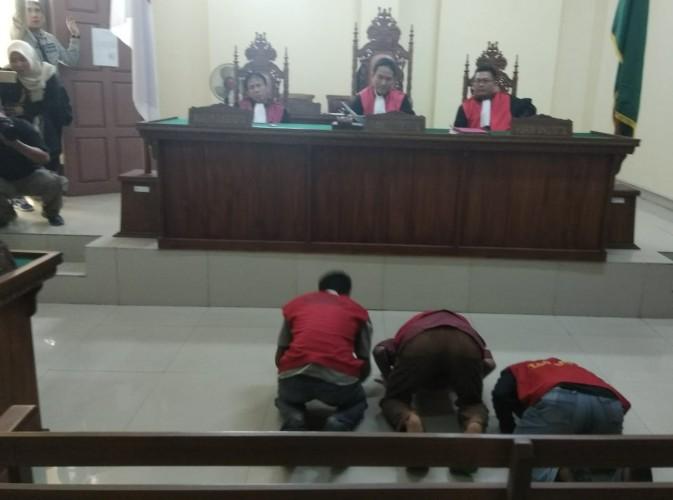 Empat Narapidana LP Rajabasa Bebas dari Jerat Hukum Kasus Money Politic