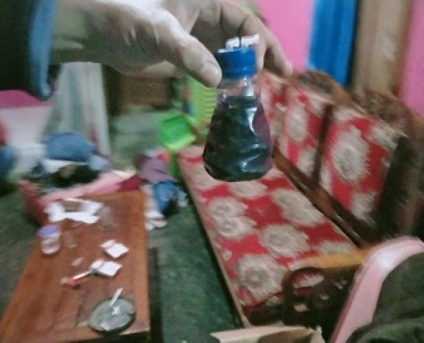 Empat Pemuda Diciduk Polres Tubaba Saat Asyik Pesta Sabu