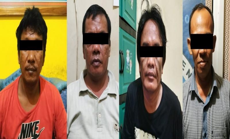 Empat Pemakai Narkoba Digulung Polres Way Kanan