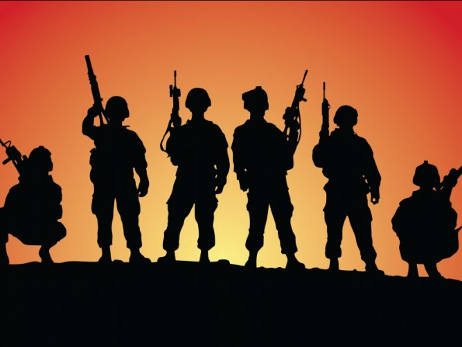 Empat Tentara Luka Tembak Diserang KKB