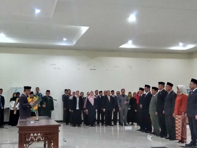 Empat Wakil Rektor Unila Resmi Dilantik