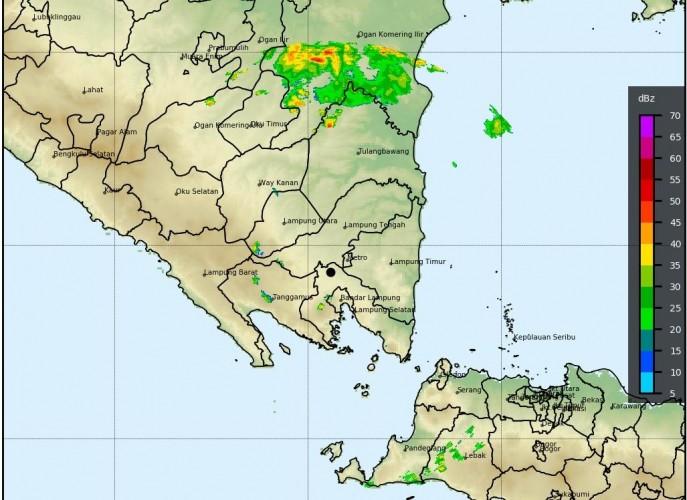 Empat Wilayah di Lampung Ini Berpotensi Hujan Lebat