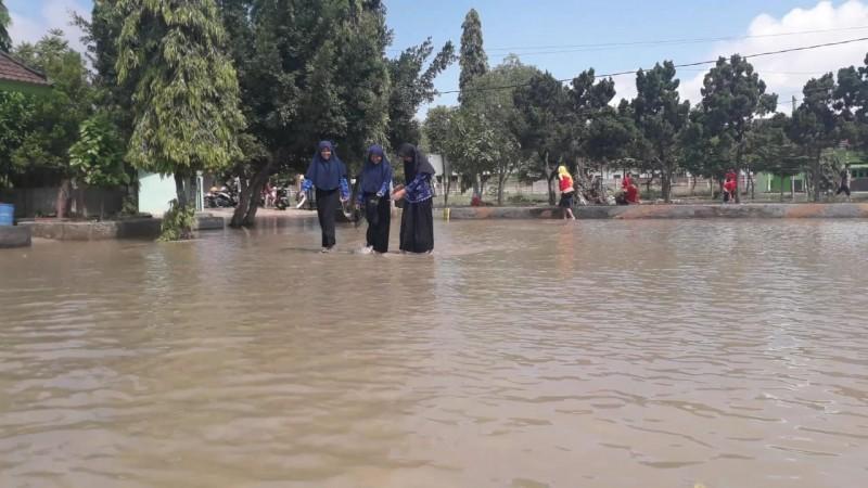 Enam Sekolah di Sukarame Terendam Banjir