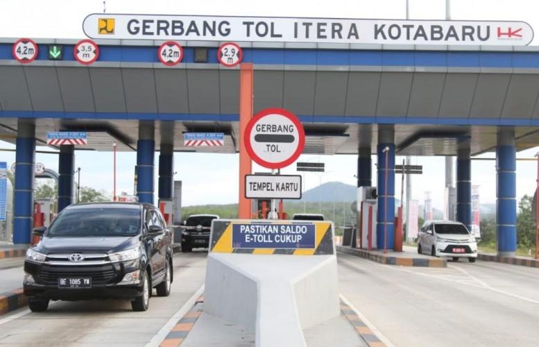 Enam Titik Penyekatan di Tol Lampung Dibuka