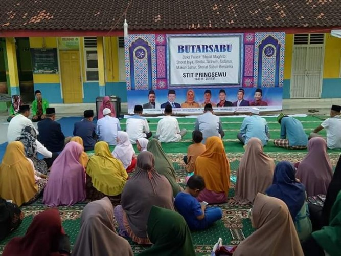 Eratkan Silaturahmi Antarmahasiswa, STIT Pringsewu Gelar Butarsabu