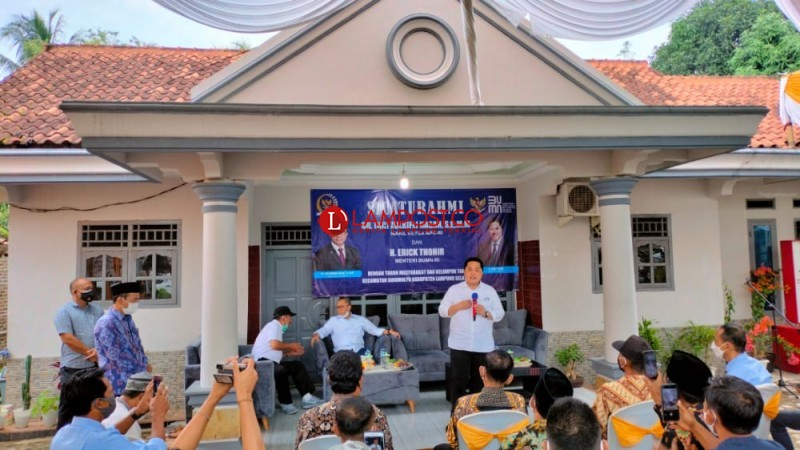 Erick Thohir Dorong Ibu-ibu Dongkrak Ekonomi Keluarga