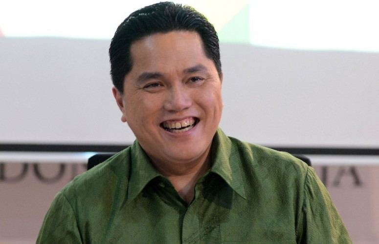 Erick Thohir Ziarah ke Makam Kesultanan Banten