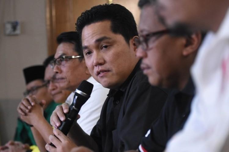 Erick Tohir Ajukan 4 Kandidat Wakil Menteri