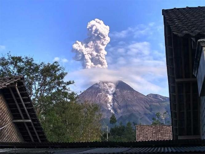 Erupsi Merapi Tak Pengaruhi Cuaca di Yogyakarta