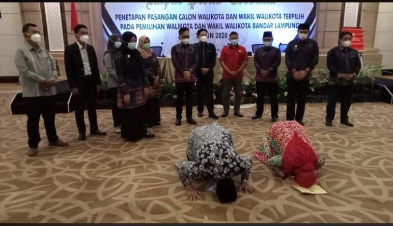 Eva-Deddy Ditetapkan sebagai Paslon Terpilih PIlkada Bandar Lampung