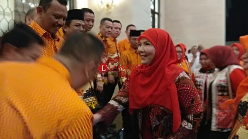 Eva Dwiana Hadiri Gala Dinner Rakernas Apeksi Ke XIV di Semarang
