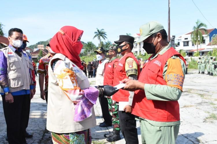 Eva Dwiana Perkuat Peran Satgas di Empat Kecamatan