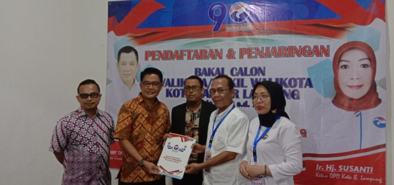Eva Dwiana Pulangkan Berkas Pendaftaran ke Perindo