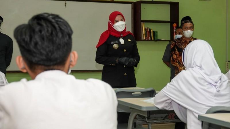 Eva Dwiana Sebut Sekolah yang Uji Coba PTM Sudah Terapkan Prokes
