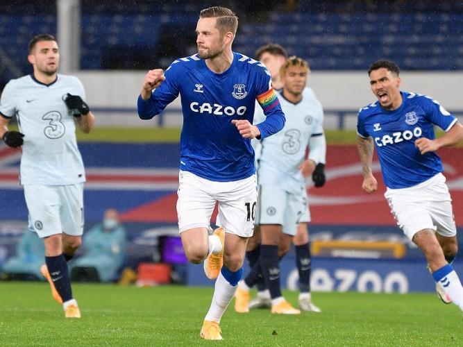 Everton Menang Tipis Atas The Blues