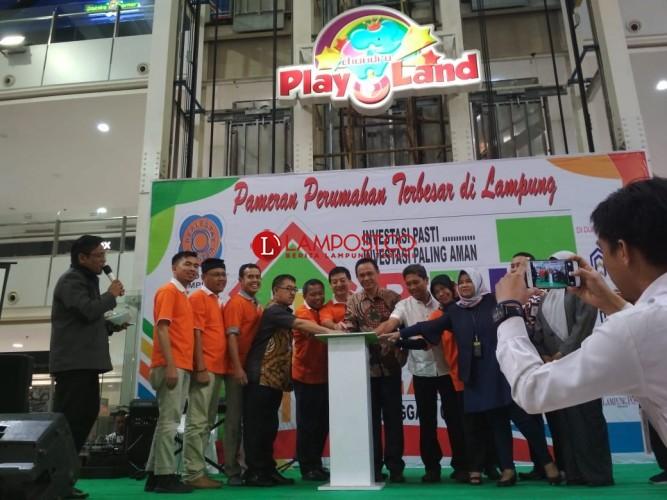 Expo 2019, REI Lampung Luncurkan Website dan APP DPD REI