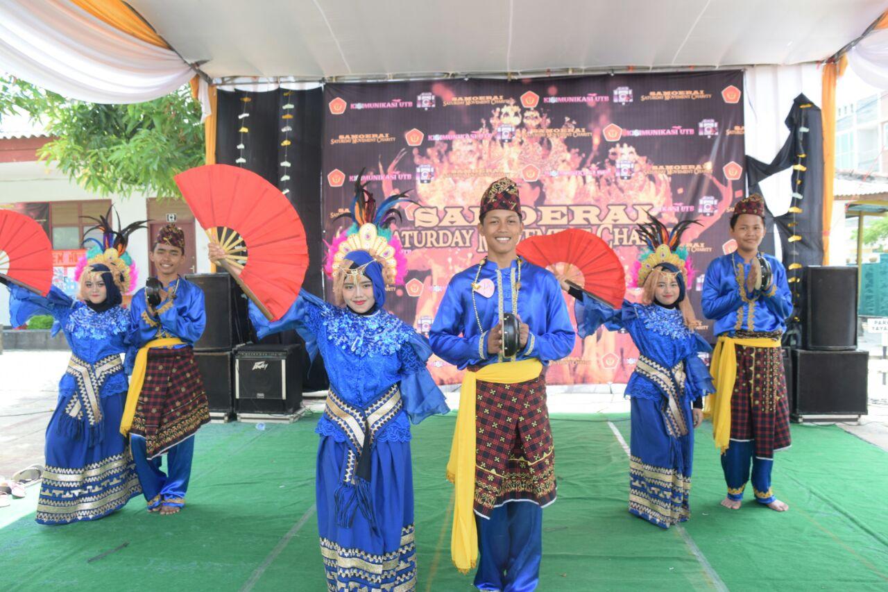 Mahasiswa Komunikasi UTB Gelar Lomba Tari Kreasi Lampung