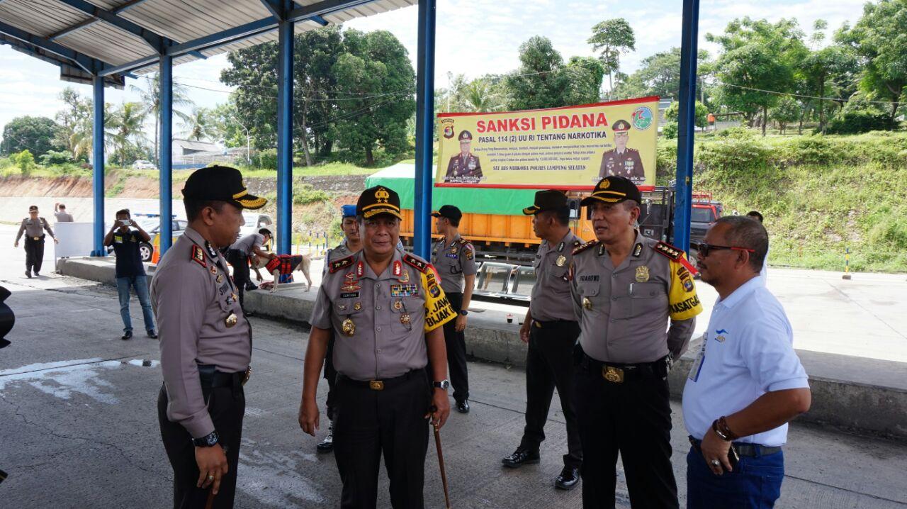 Kapolda Lampung Dijadwalkan Merilis Tangkapan Sabu di Bakauheni