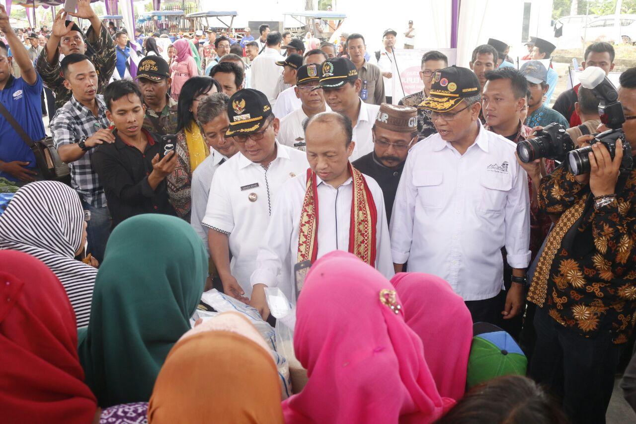 Kota Terpadu Mandiri Mesuji Dinilai Kemendes Terbaik di Indonesia