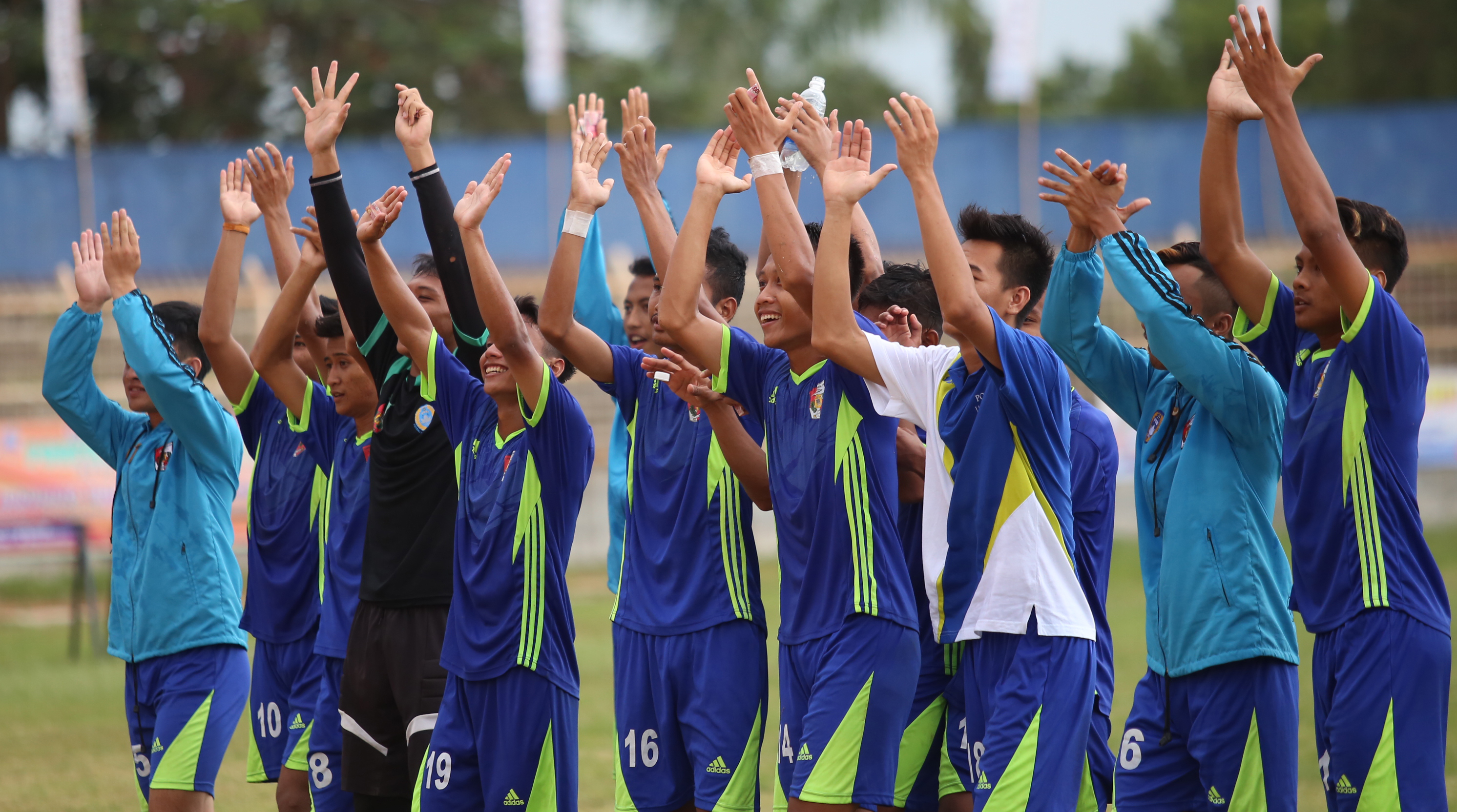Lampung Timur Tantang Lampung Utara  di Final Sepak Bola Porprov VIII